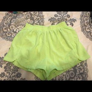 Neon fun summer shorts